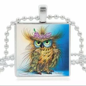 Jewelry - 🦉Funny owl necklace 🦉